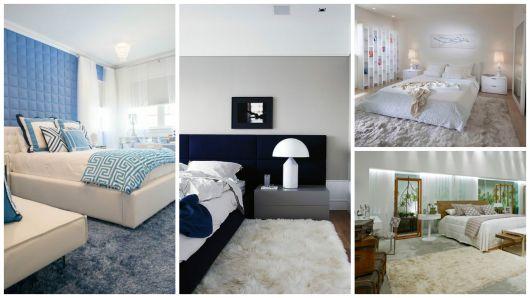 quartos com tapete