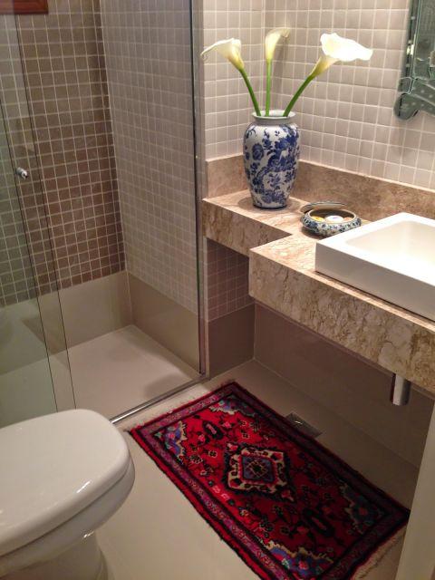 tapete banheiro