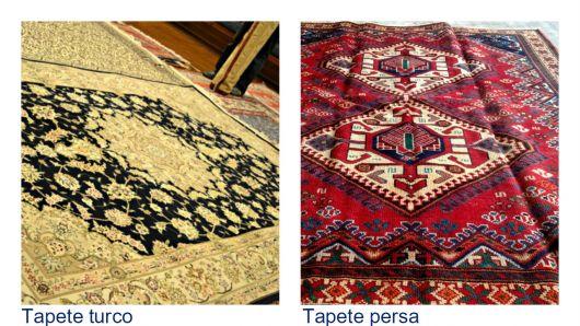 diferença tapete turco