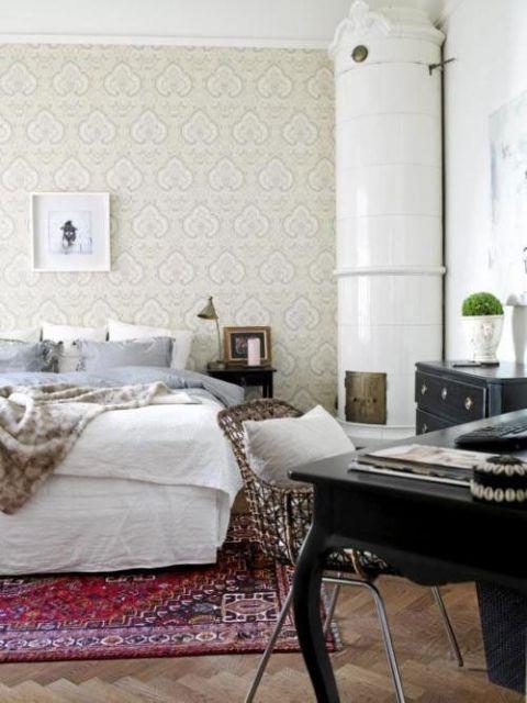 decoração clássica quarto de casal