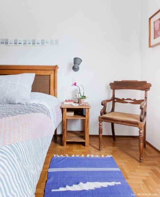 móveis rústicos quarto