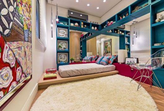 Tapetes para quarto de casal e adulto 72 modelos lindos e  ~ Tapetes Para Quarto Ikea