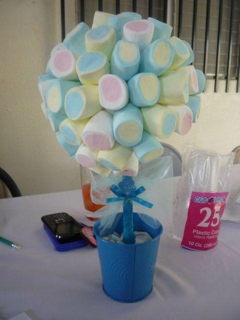 árvore de marshmallow
