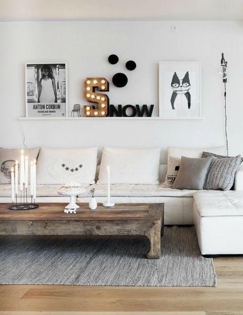 como-organizar-uma-sala-pequena-minimalismo