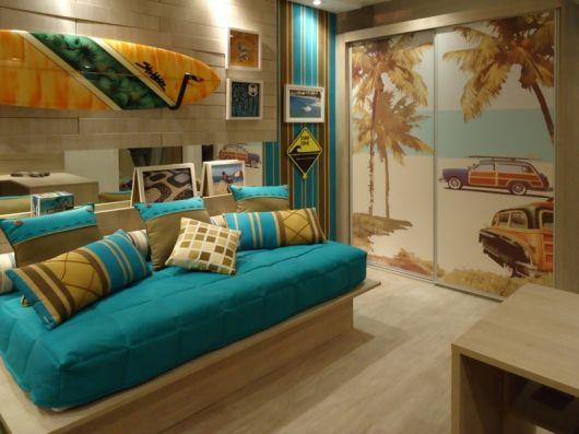 decoração surf quarto