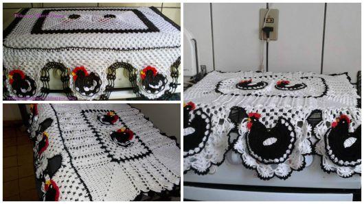 modelos de galinha decoração cozinha