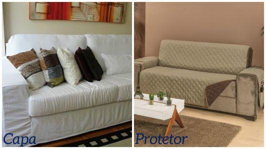 diferença capa e protetor
