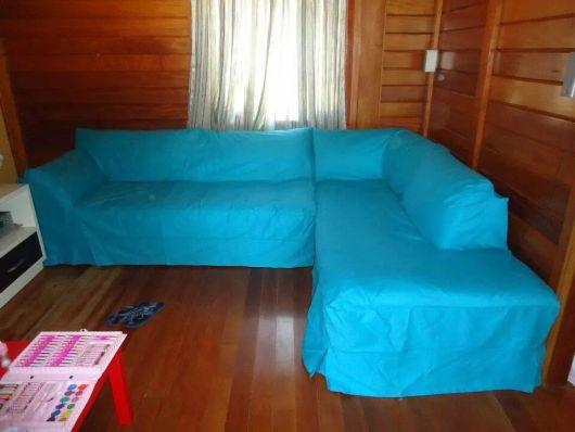 capa colorido sofá de canto