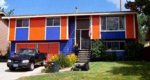 casas feias e coloridas