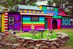 casas feias toda colorida