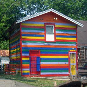casas feias fachada colorida