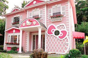 casas feias da hello kitty