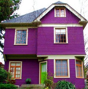 casas feias roxas