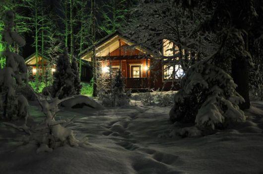 casas-na-floresta-luxo-modernas
