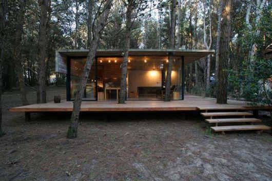 casas-na-floresta-moderna