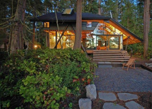 casas-na-floresta-modernas-e-luxuosas