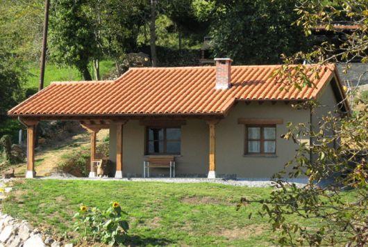 Casas na ro a rurais 40 projetos simples lindos e inspiradores - Casa rural en rupit i pruit ...