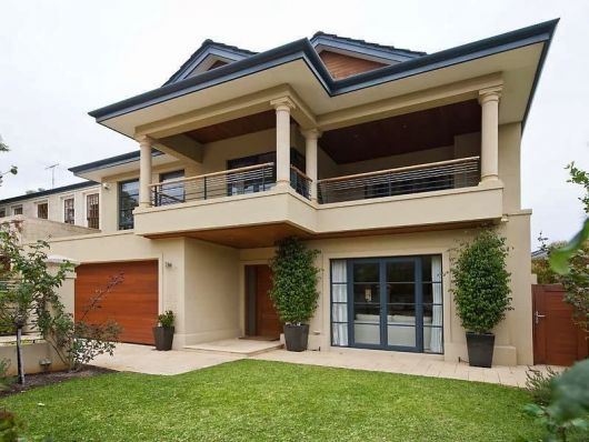 Casas na ro a rurais 40 projetos simples lindos e for Fachadas de casas modernas para colorear
