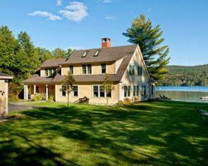 estilos de casas no lago