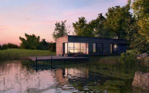 casas no lago projetos modernos