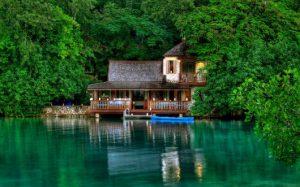 casas no lago modelo tradicional