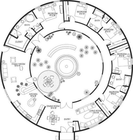 casas-redondas-plantas-2
