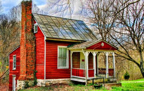 casas-vermelhas-rusticas