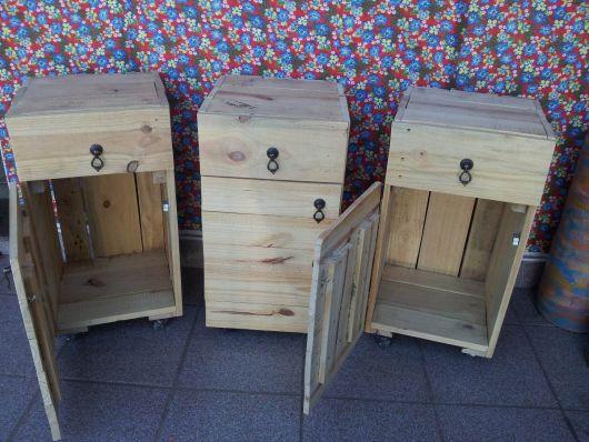 Lindos modelos rústicos de caixote que você mesmo pode fazer!