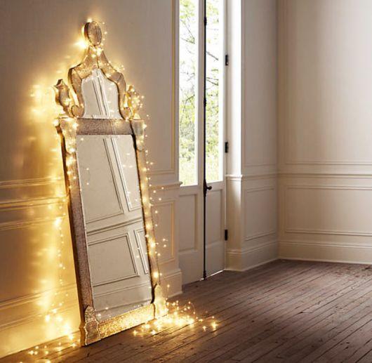decoracao-com-pisca-pisca-espelho