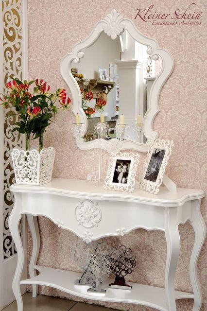decoracao-de-aparador-estilo-provencal-branco