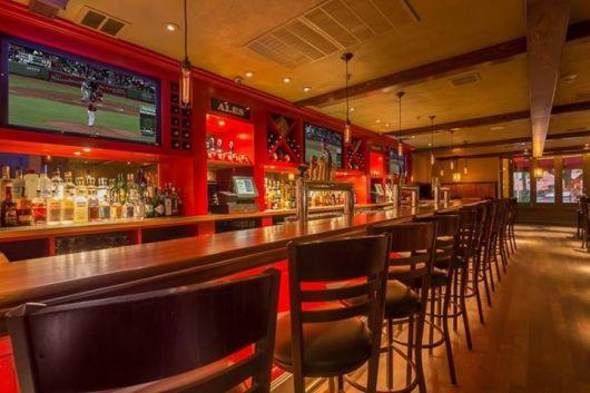 bar com TVs