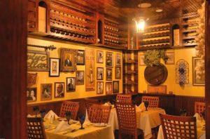 decoração de restaurantes italiano