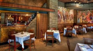 decoração de restaurantes com menu italiano