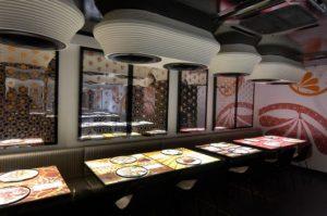 como fazer decoração de restaurantes japoneses