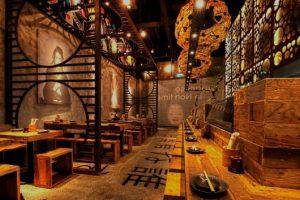 decoração de restaurantes oriental
