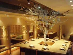 decoração de restaurantes japones