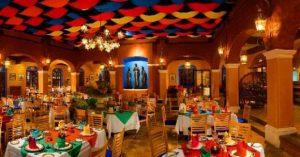 decoração de restaurantes de comida mexicana