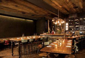 decoração de restaurantes modelo rústico