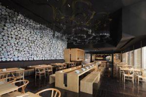 decoração de restaurantes minimalista