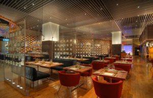 fotos de decoração de restaurantes modernos