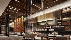 design moderno de decoração de restaurantes