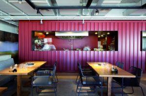 decoração de restaurantes simples e pequeno