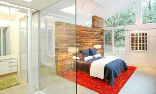 quarto com vidro