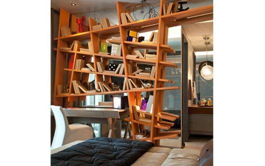estante-de-madeira-estilosa