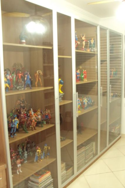 da sua coleção antes de escolher o modelo de estante de vidro ...