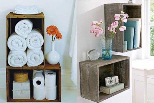 O criado mudo também pode ser instalado em ambientes como o banheiro