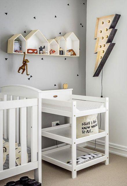 Nichos para Quarto de Bebê Passo a passo e + de 60 modelos!