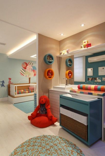 nichos-para-quarto-de-bebe-redondo-colorido