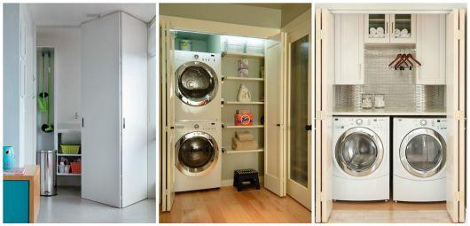 porta para lavanderia
