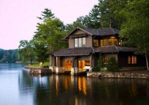 dicas de casas no lago